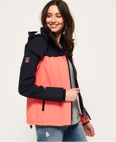Superdry Superdry Pacific Arctic Pop Zip SD-Windcheater med hætte
