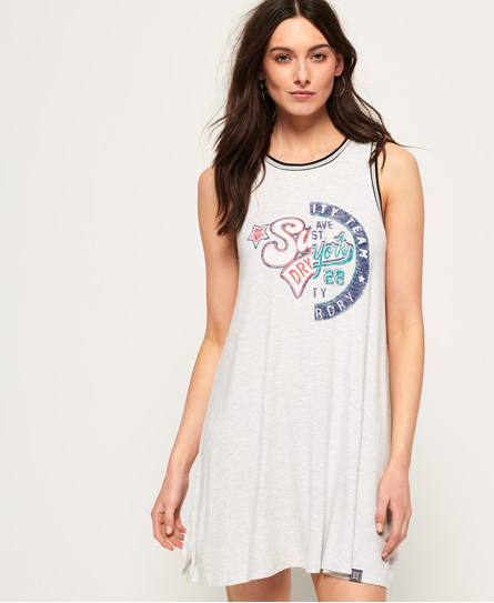 Superdry Sport College Swing Dress