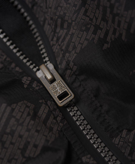 Superdry Training Stretch Hybrid jas met ritssluiting