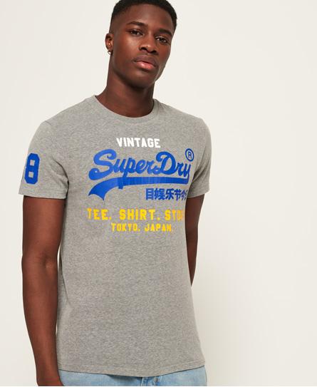 Superdry - Camiseta tricolor Shirt Shop - 2