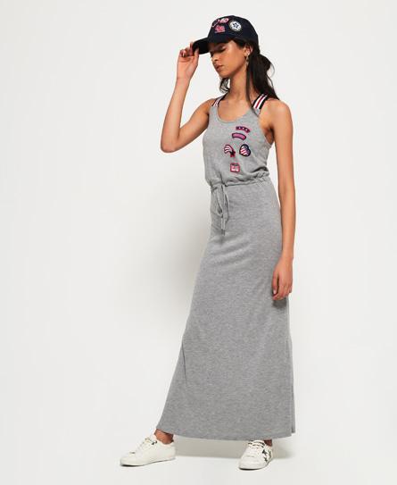 Superdry Tri Colour Strap maxi-jurk