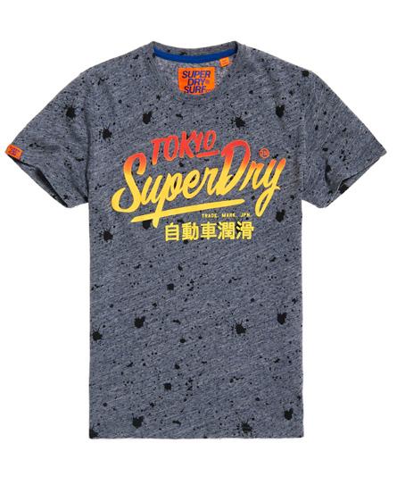 Superdry Ticket Type Splatter T-Shirt