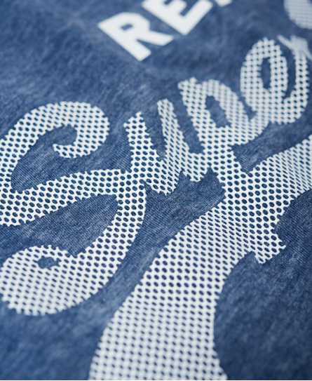 Superdry Vintage Logo Burnout T-shirt