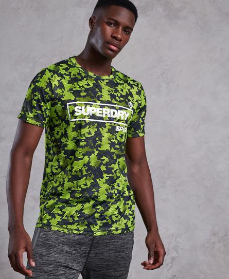 Superdry Superdry Training Kit T-shirt med print