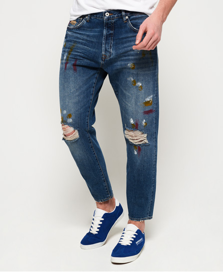 Superdry Oversized Tapered Jeans