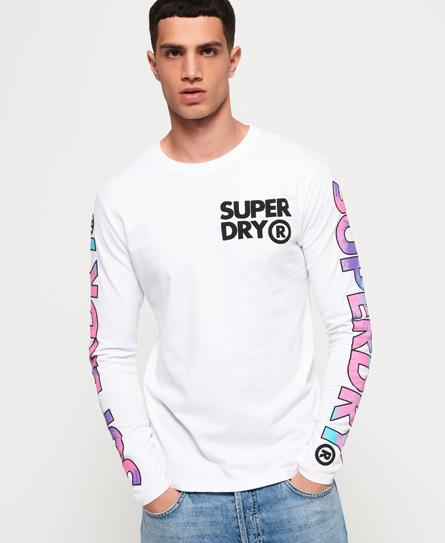 Superdry Langärmeliges Echo Beach T-Shirt
