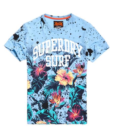 Superdry Superdry Echo Beach T-shirt med gennemgående print