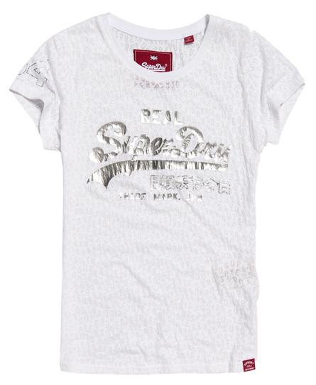 Vintage Logo T-Shirt im Ausbrennerstil Superdry Großhandelspreis Online Shop Für Günstigen Preis Günstig Kaufen Bilder Spielraum Billig Billig Verkauf Footlocker JtRIUMsUPW