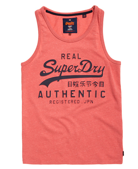 Superdry Vintage Authentic Embossed Print-singlet