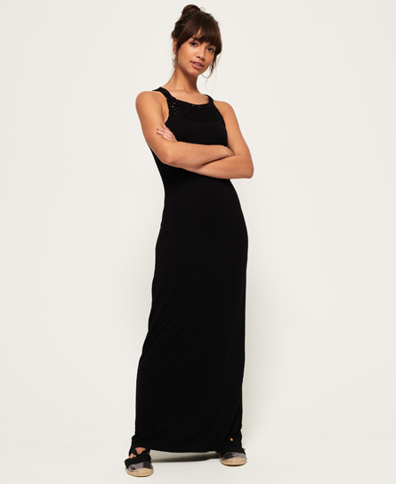 Product photo of Superdry knotty maxi dress