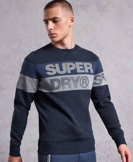 Superdry Superdry Gym Tech Cut trøje med rund hals