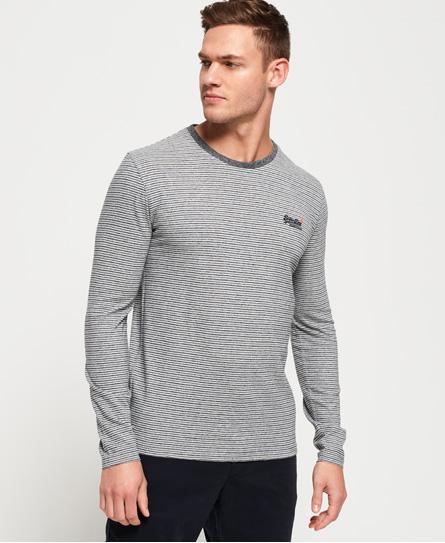 Merchant Stripe Long Sleeve T-Shirt