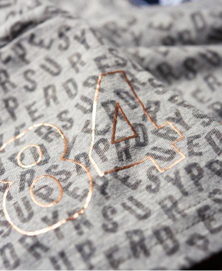 Superdry Vintage Logo Burn Out T-shirt