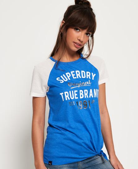 Superdry Superdry LA T-shirt med knude foran