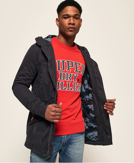 Superdry Superdry New Rookie Military parka