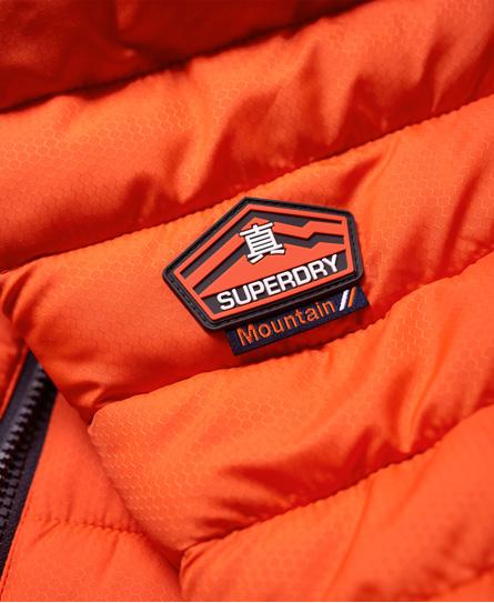 Superdry New Fuji jas met dubbele rits en capuchon