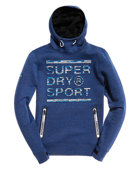 Superdry Gym Tech Court Hoodie zum Überziehen