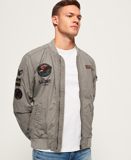 Rookie Duty Patch Bomber Jacket