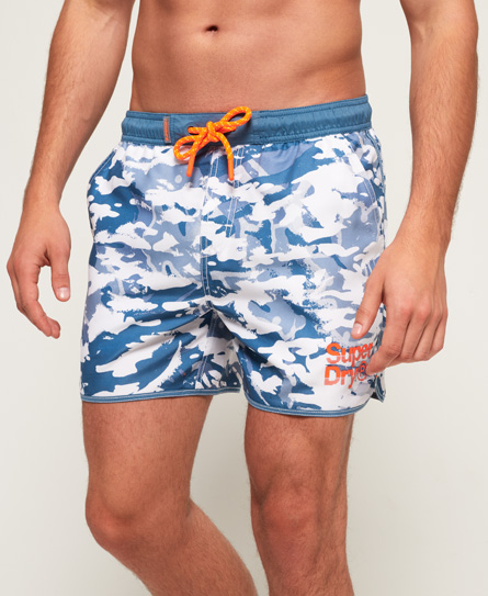 Comfortable Sale Online 2018 New For Sale Echo Racer Swim Shorts Superdry Free Shipping Cheap Price dwA9JH6jq9