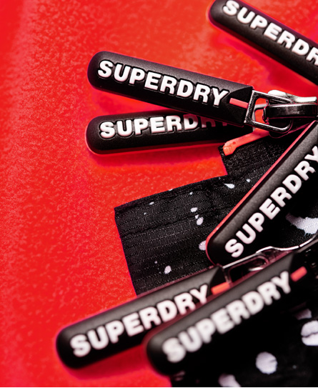 Superdry Bedruckte Arctic Pop SD-Windcheater mit Kapuze und Reißverschlus