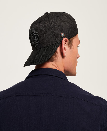 Micro Monogram Baseball Cap by Superdry