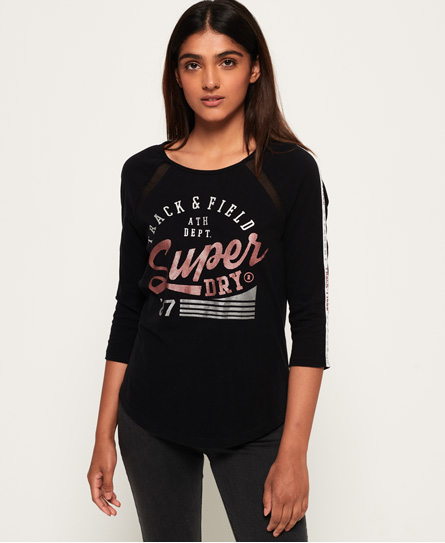 Superdry Superdry Track & Field baseball-top