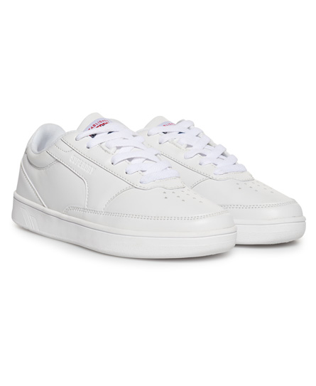 Superdry Retro Court Trainers