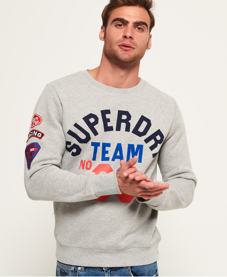 Discount Pictures 2018 New Cheap Online Famous Flyers Crew Sweatshirt Superdry Release Dates Online Clearance Websites TjvJJ1RHar