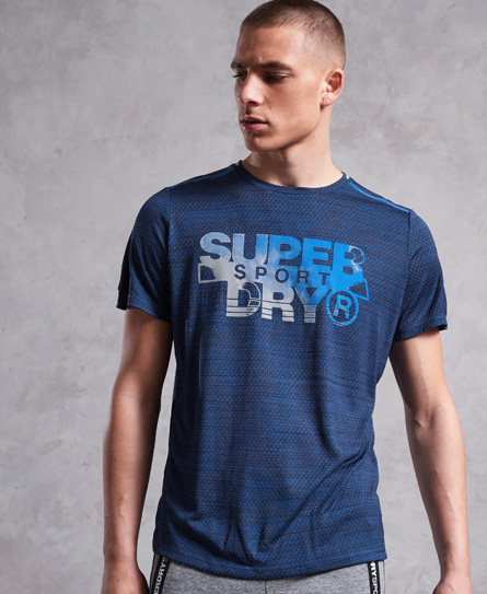 Superdry Superdry Active Microvent Graphic T-shirt