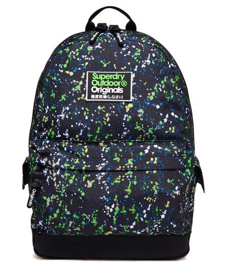Superdry Superdry Montana rygsæk med splatterdesign