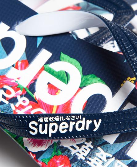 Superdry All Over Print Flip Flops
