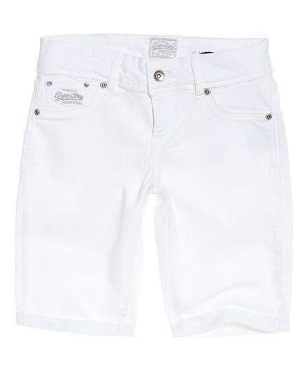 Superdry Superdry Cut Off shorts med lav talje