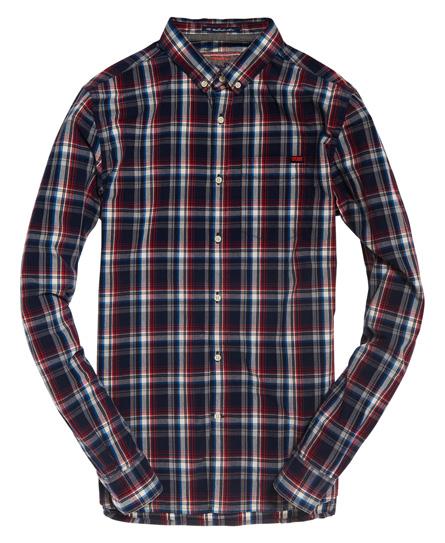 Superdry Washbasket långärmad skjorta