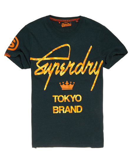 Superdry Superdry City Brand camouflage T-shirt