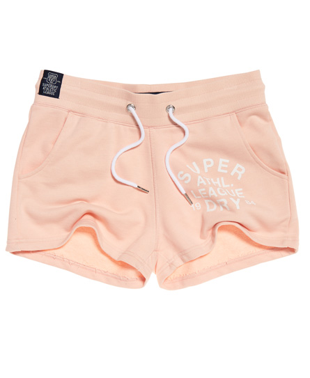 Superdry Athletic League Loopback Shorts | Accessoires > Schals & Tücher > Loops | Pink | Material: baumwolle 55%|polyester 45%| | Superdry