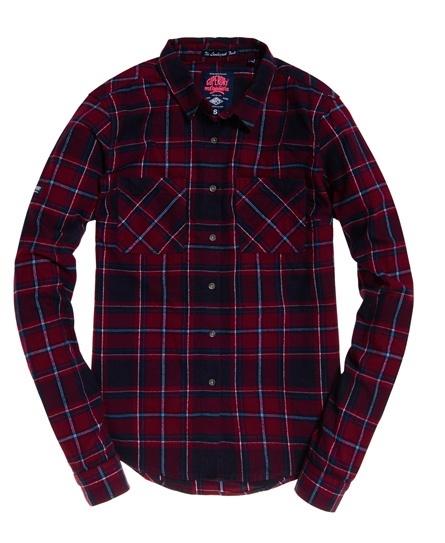 Superdry New Lumberjack Twillhemd