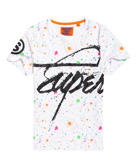 Superdry Crew Paint Splatter T-Shirt