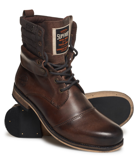 Superdry Mid Trawler Boots