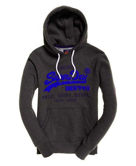 Superdry Sweat Shirt Shop Hoodie mit zweifarbigem Logo