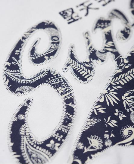Superdry Paisley Stacker T-shirt