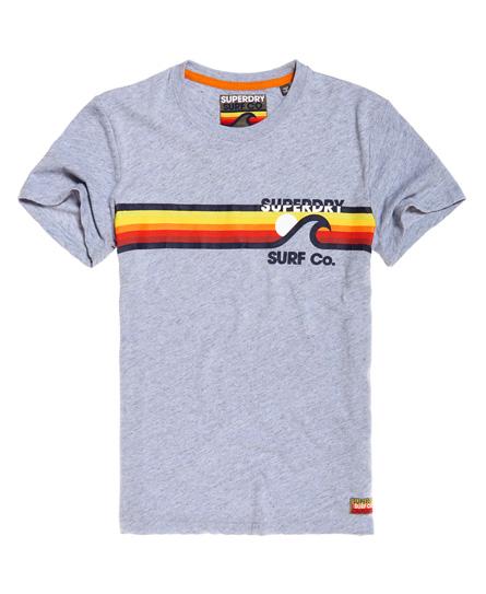 Superdry Gestreiftes Surf Co T-Shirt