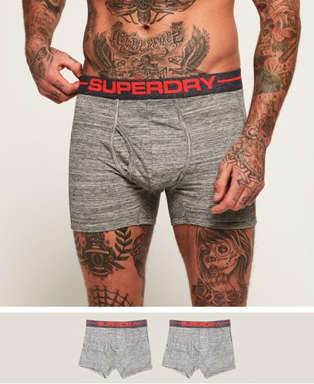 Superdry Superdry Sport boksershorts, 2-pk
