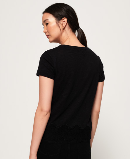 Cheap Sale Wholesale Price Cheap Sale 100% Authentic Superdry Somertrees Lace T-Shirt Cheap Sale Factory Outlet 100% Guaranteed Buy Cheap Manchester fnzXnggGGM