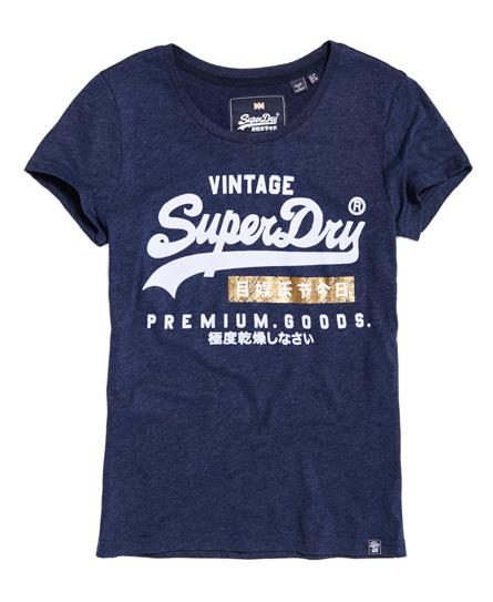 T-shirt Nero donna T-shirt sportiva Premium Goods moda abbigliamento - immagine 0