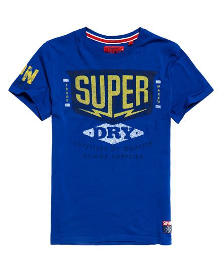 Superdry - Camiseta ligera clásica Power Supplies Heritage - 2