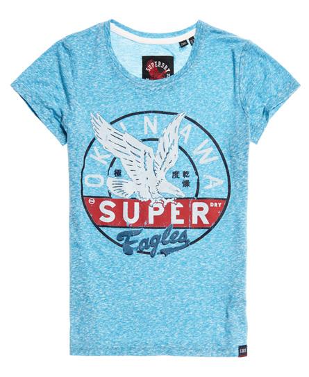 T-shirt Blu donna T-shirt Gasoline moda abbigliamento - immagine 0