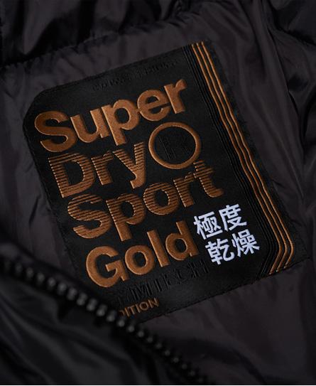 Superdry Gym Tech Gold Pufferjacke