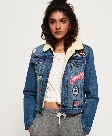 SD Girlfriend Sherpa Jacket