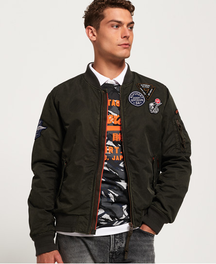 Superdry Superdry Limited Issue Flight bomberjakke