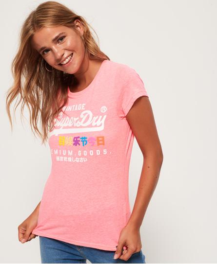 Superdry Superdry Premium Goods T-shirt med fremhævet print